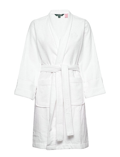 Lrl Essential The Greenwich Robe Bademantel Weiß LAUREN RALPH LAUREN HOMEWEAR