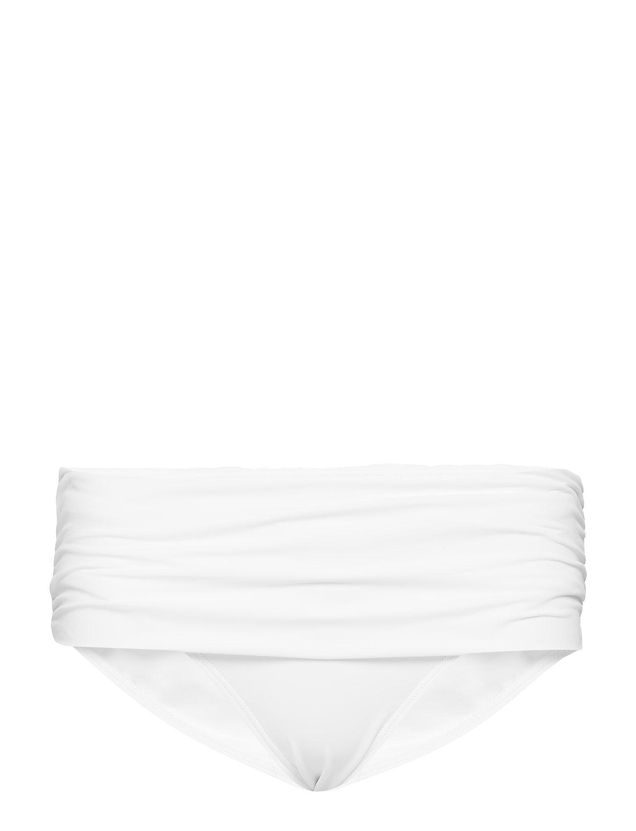 1974d96e63b Bcs Wide Shirred Banded Hipster Black, 4 Bikini Hvid LAUREN RALPH LAUREN  SWIMWEAR