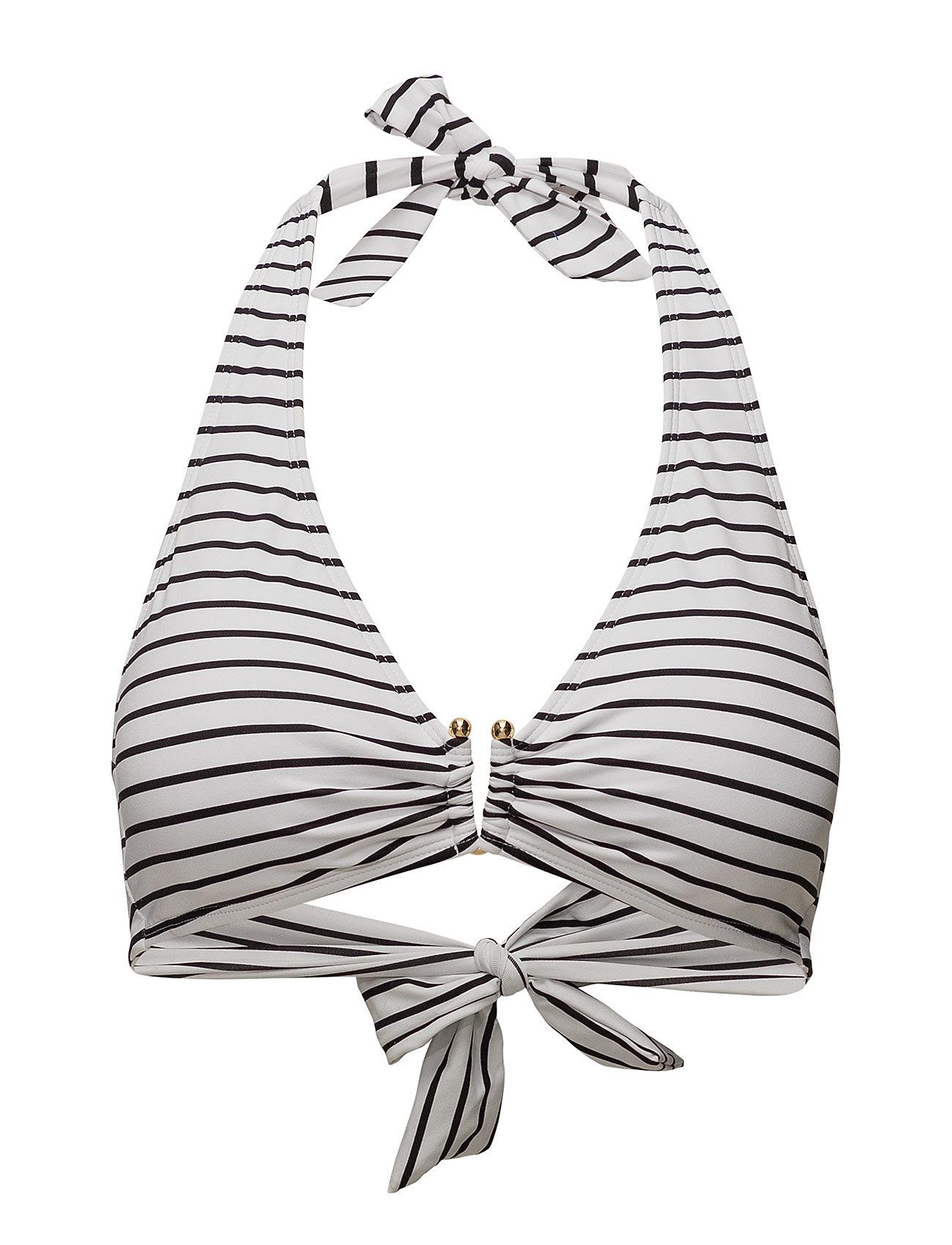 Lauren Ralph Lauren Swimwear CITY STRIPE UW HALTER W REM CUP Badkläder