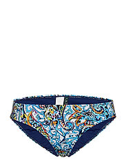 Mystic Paisley Print Hipster - BLUE
