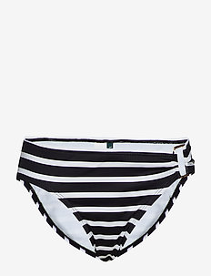 Stripe Mix Ring Front Hipster - BLACK