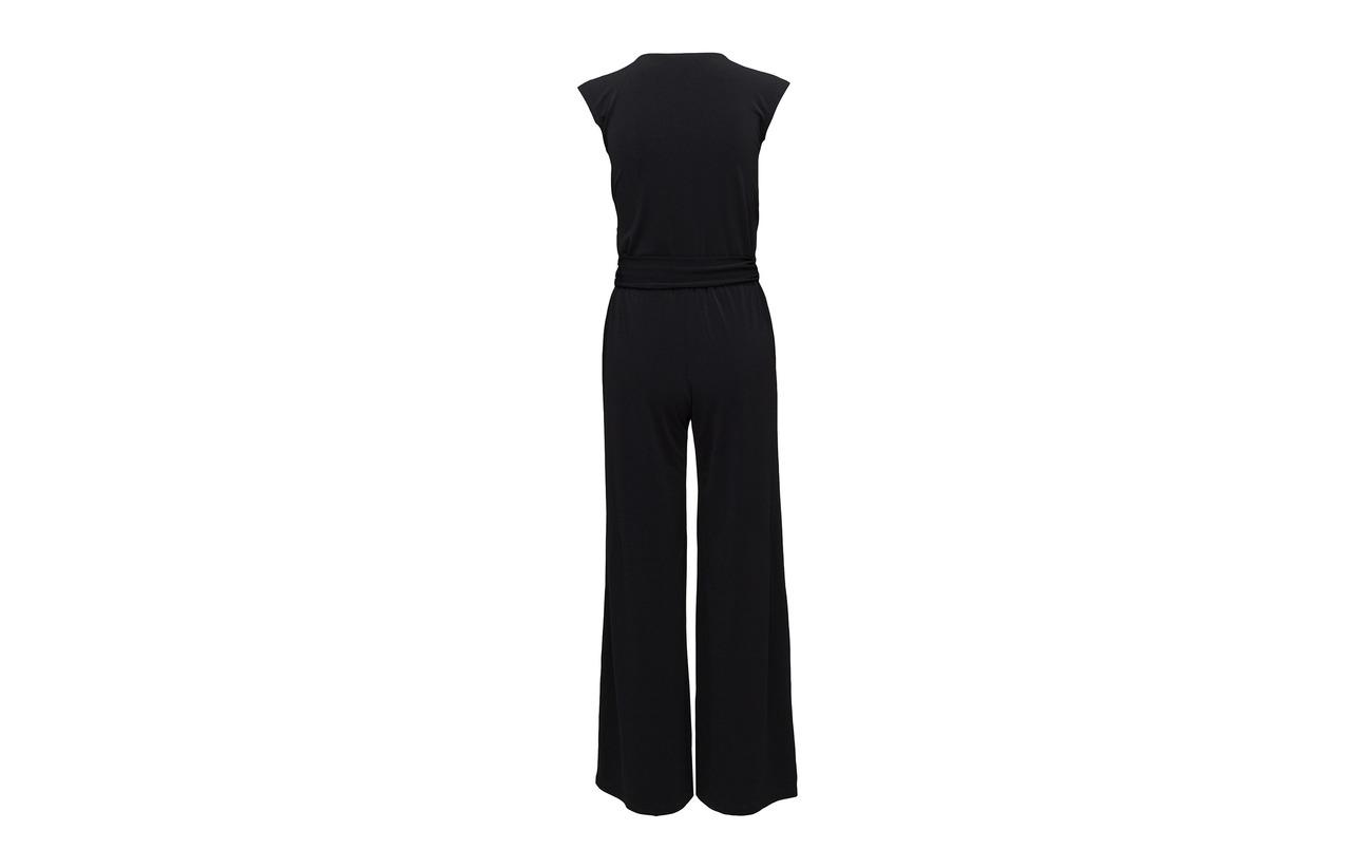 Surplice Ralph Elastane Polo Black Polyester 5 95 Jumpsuit Jersey Lauren 5HOwxARqd5