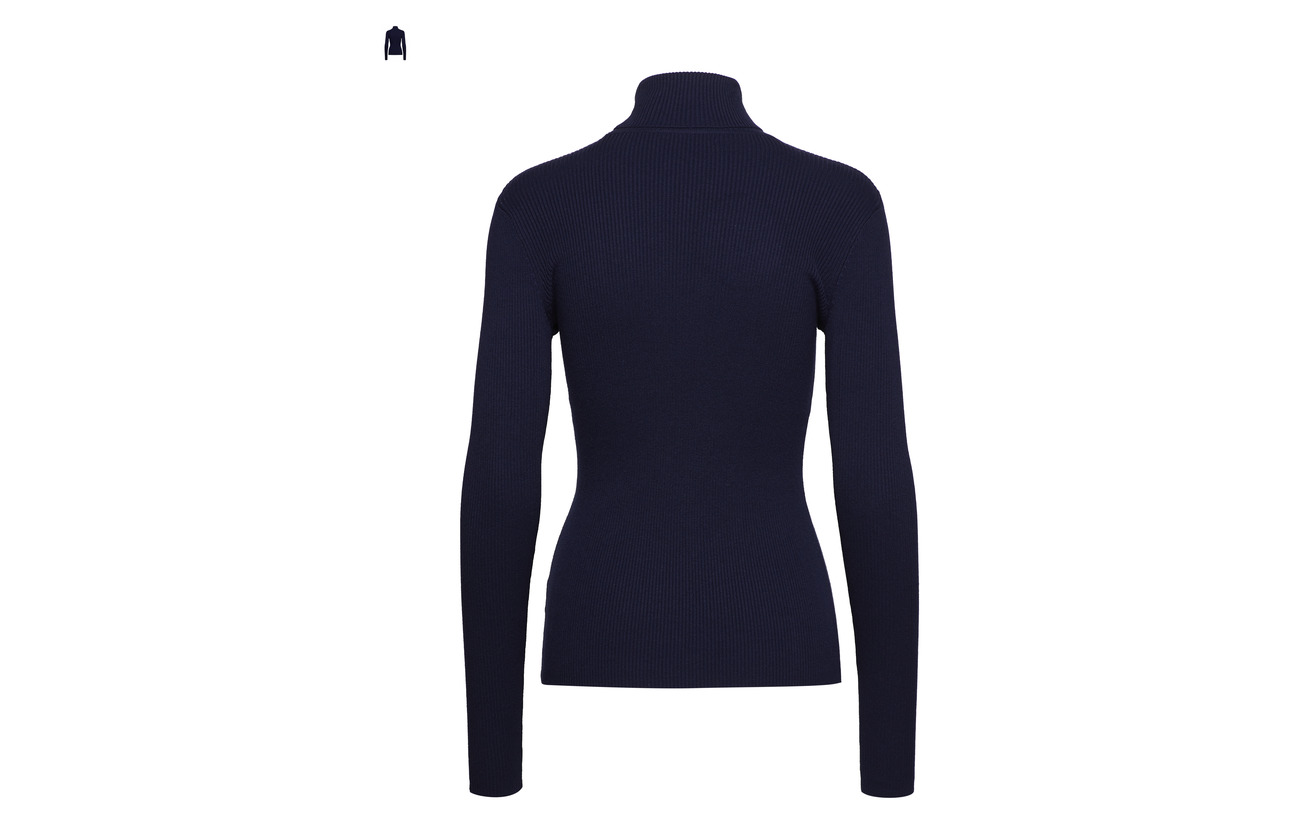s Nylon l Turtle Lauren Cotton Modl Modale Navy Stretch Coton Ralph Neck 18 50 32 IxqwwY6WXU