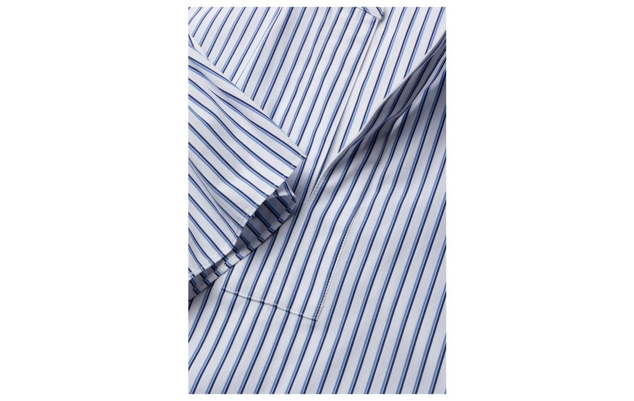 Shirt d 100 Tide Coton Lauren Y Blue 4 3 Ralph Slv Stripe white aExS8