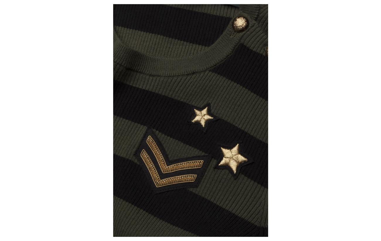 18 Modale masc 51 Striped Lauren Polo C Nylon Black trim Sweater Coton Ralph 31 Button SqqOw7U