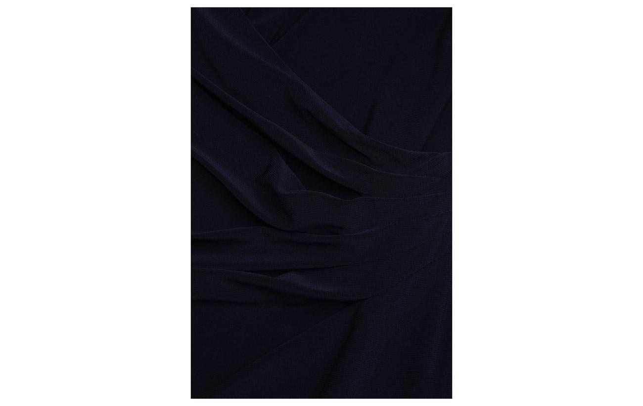 Doublure Elastane Extérieure Dress Ralph 5 Coquille 95 Polyester Lauren Navy Lighthouse Ruched Jersey w1WBq8a