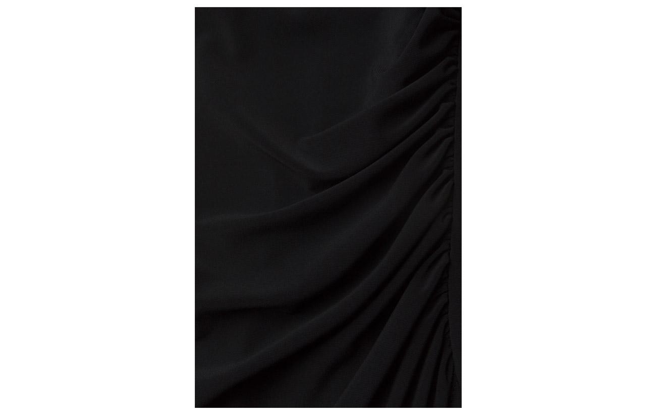 sleeve Lauren Coton Georgette Lighthouse 95 Elastane l Navy Flutter Dress Ralph 5 FFxrqpBE