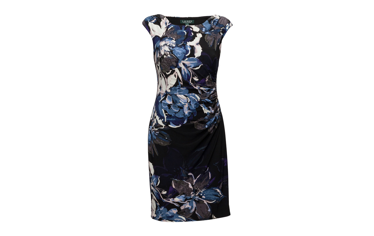 B639 blue multi Lauren 5 95 Blk patras Floral Coton koriza Elastane Ralph FAqZ6wT