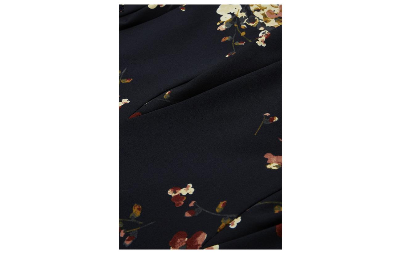 6 Ralph Navy mul Floral Dress print Jersey blush Polyester 94 Elastane Lh Lauren PTqpwdT