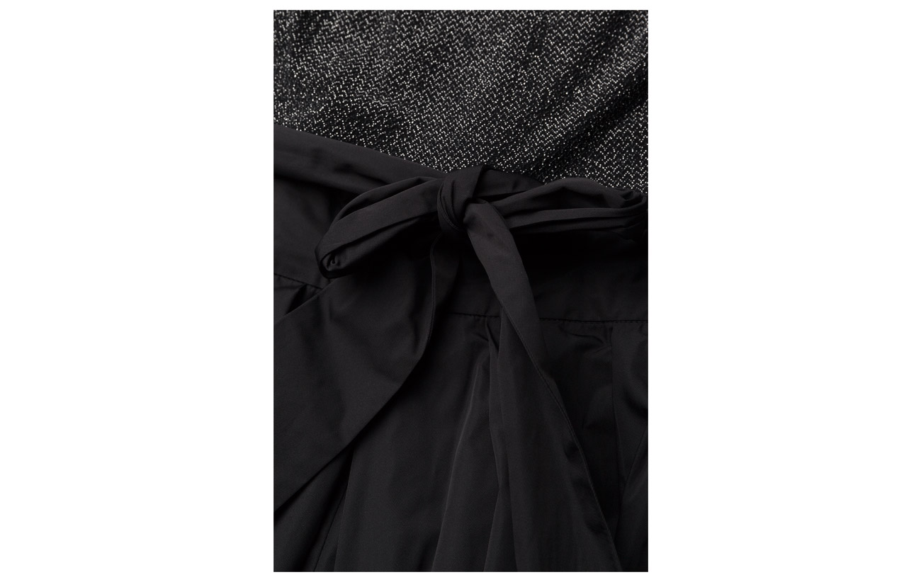 Nylon 95 Gown low Lauren Silve Métallique Black Metallic Ralph Bodice Skirt 8 Polyester 100 Doublure 88 High black Elastane Polyester Chevron 5 4 wRCqSCP