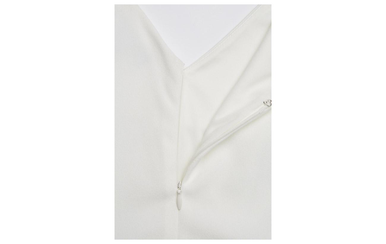 Black 94 Two Ralph 6 tone cream Lauren Gown Elastane Polyester Ruffled wxFq0wnf