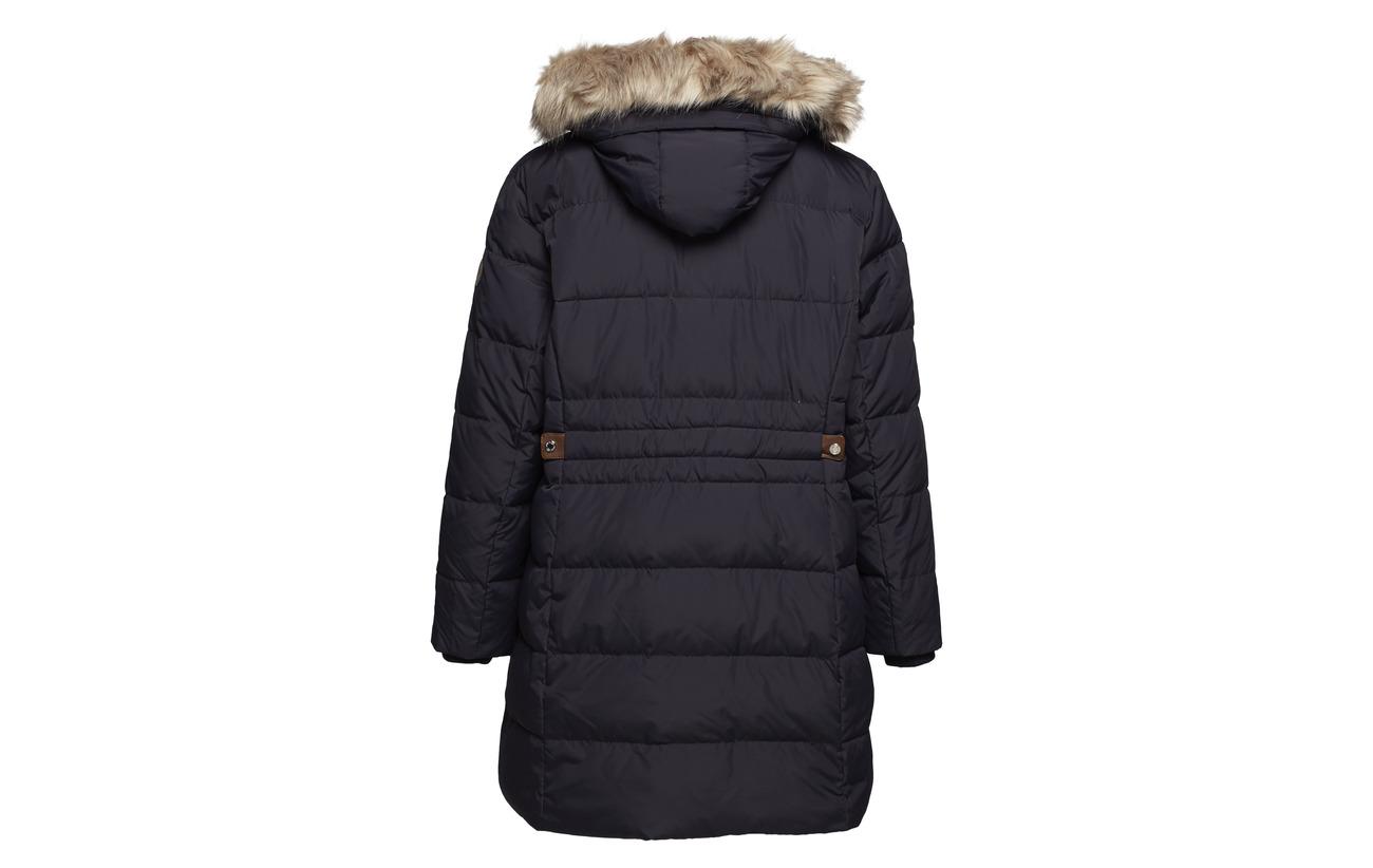 Hooded Leather 100 Dk Polyester fx Dw Hand Lauren Cotton Ralph Navy qBPpRp