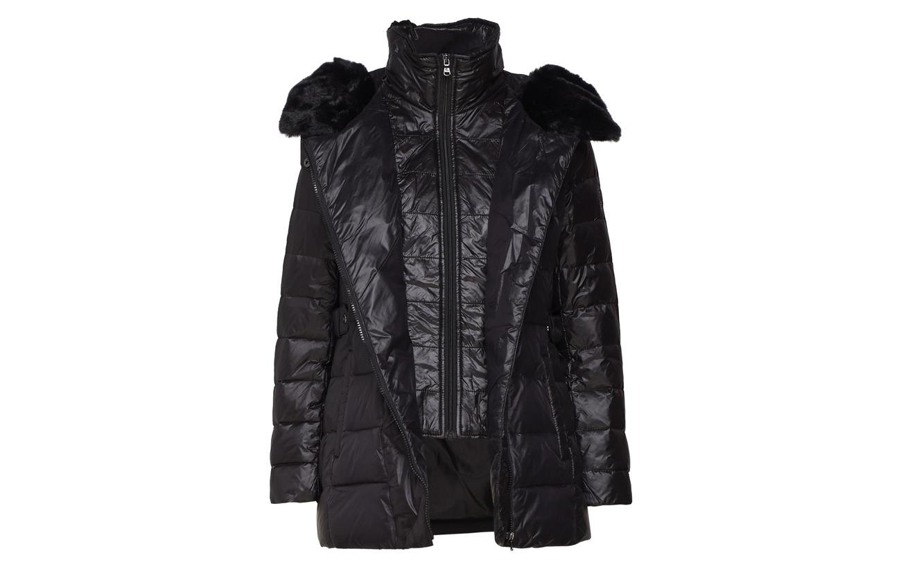 Black Nylon Zig Plac Lauren asym 18 32 Modale Coton Iridescent 50 Ralph Nylon Zag 1wxa04qC