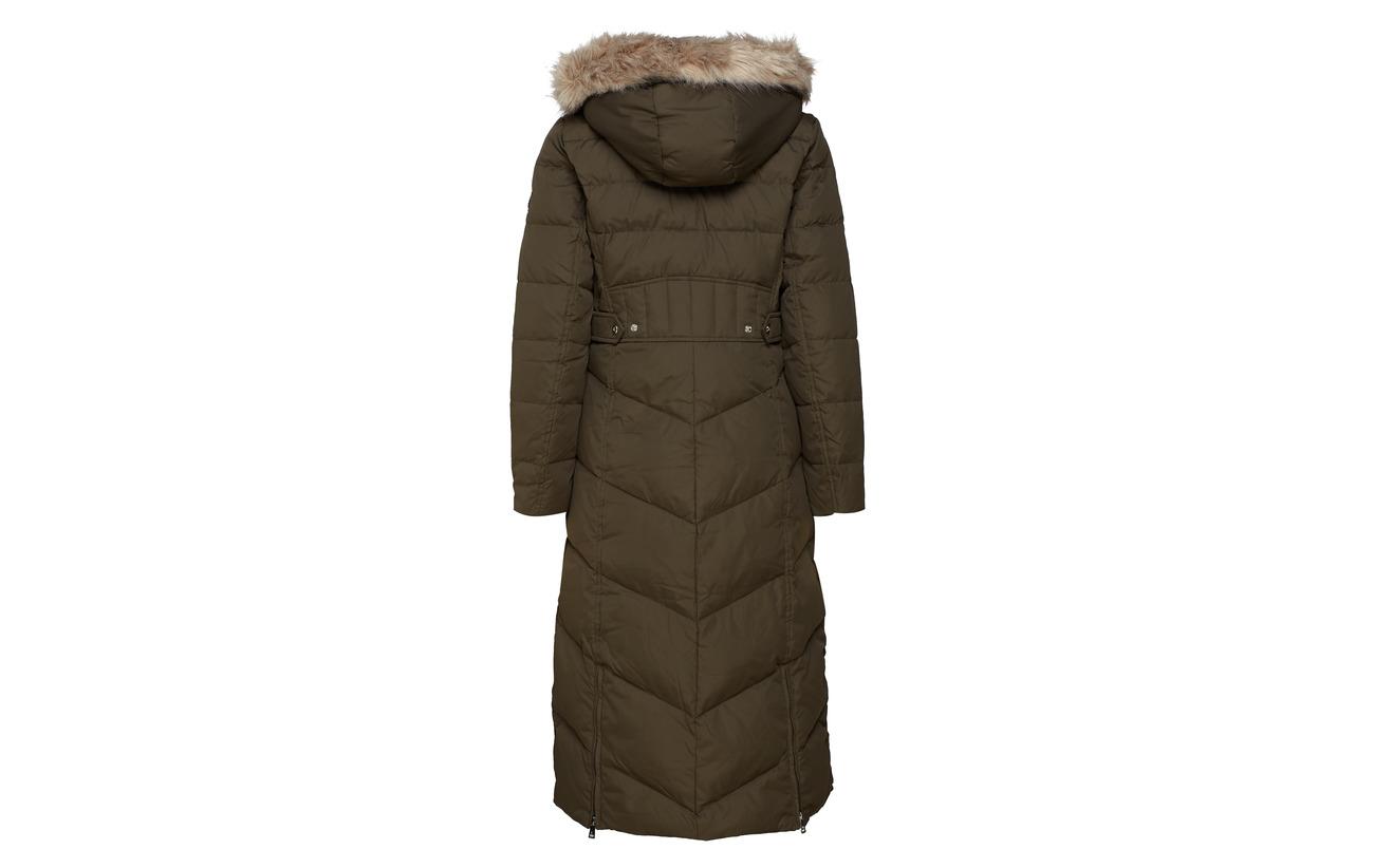 Satin Nylon Ralph Lauren Finish Modale Quilt Black 32 Maxi 50 Coton femme Dw 18 O5xxwTq