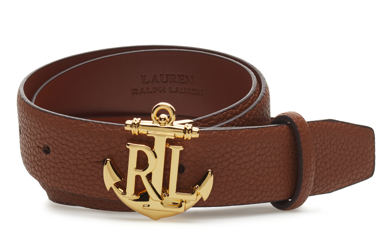 anchor leather belt  lauren tan   695 kr