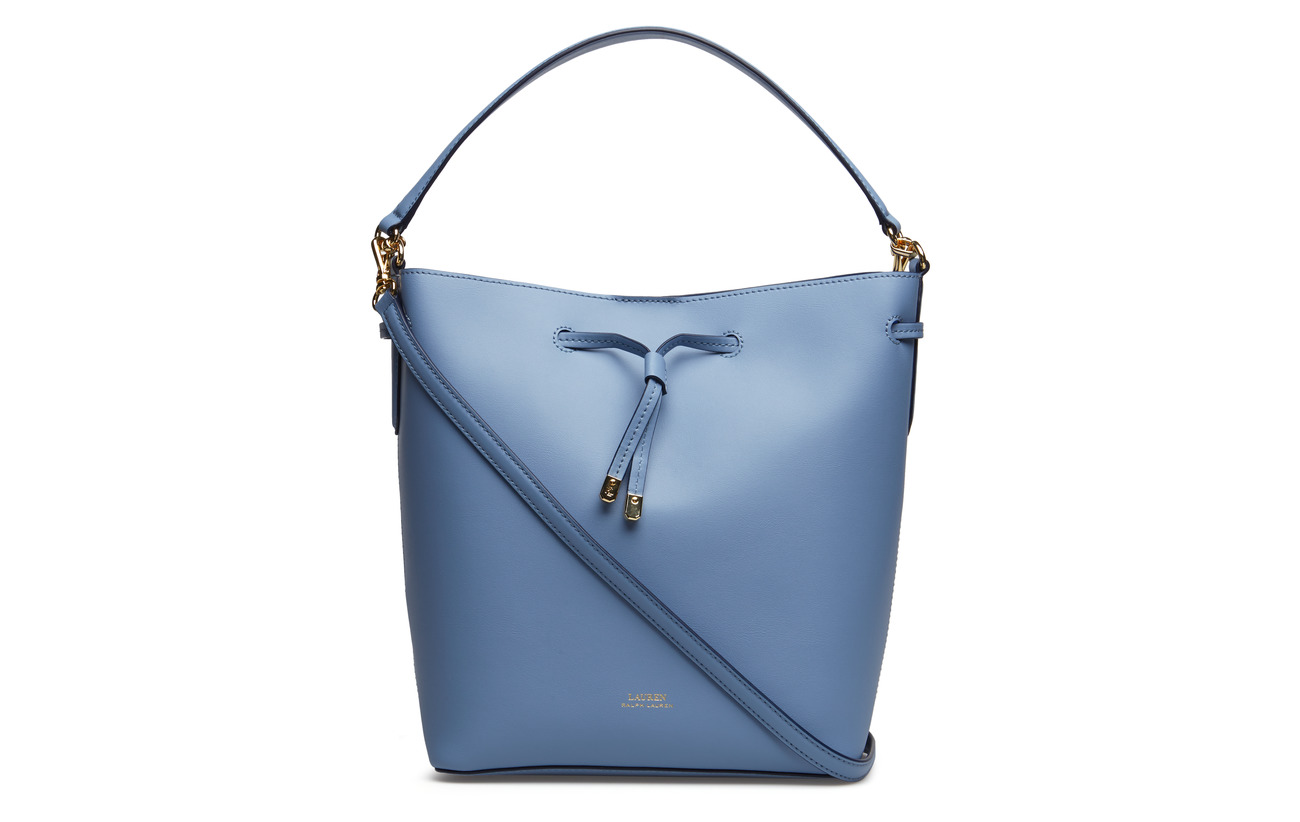 cosmic Lauren Cowleather Blue 100 Mist Ralph Drawstring Bag Debby Leather PwZP4rvq0