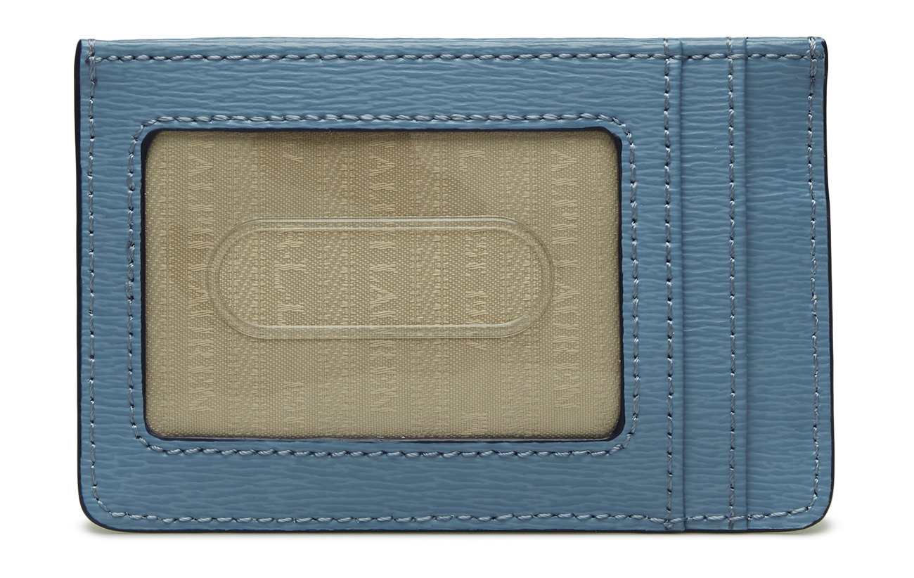 Leather 100 Navy Case Card Lauren Ralph Cowleather BwXSq5