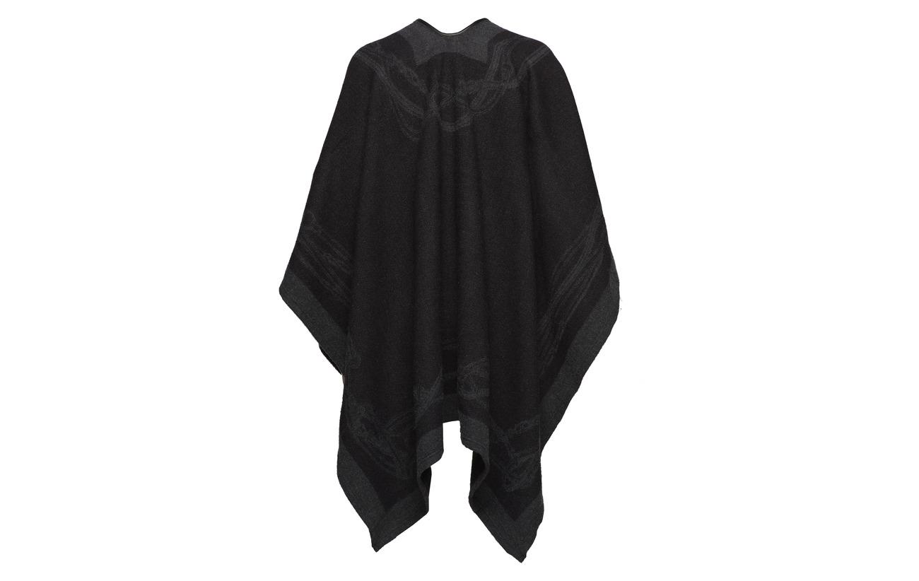 Black Nylon Cape 49 Mouton Ralph Acrylique 22 Laine 25 bridle Acrylic charcoal Lauren De w0ItYqY