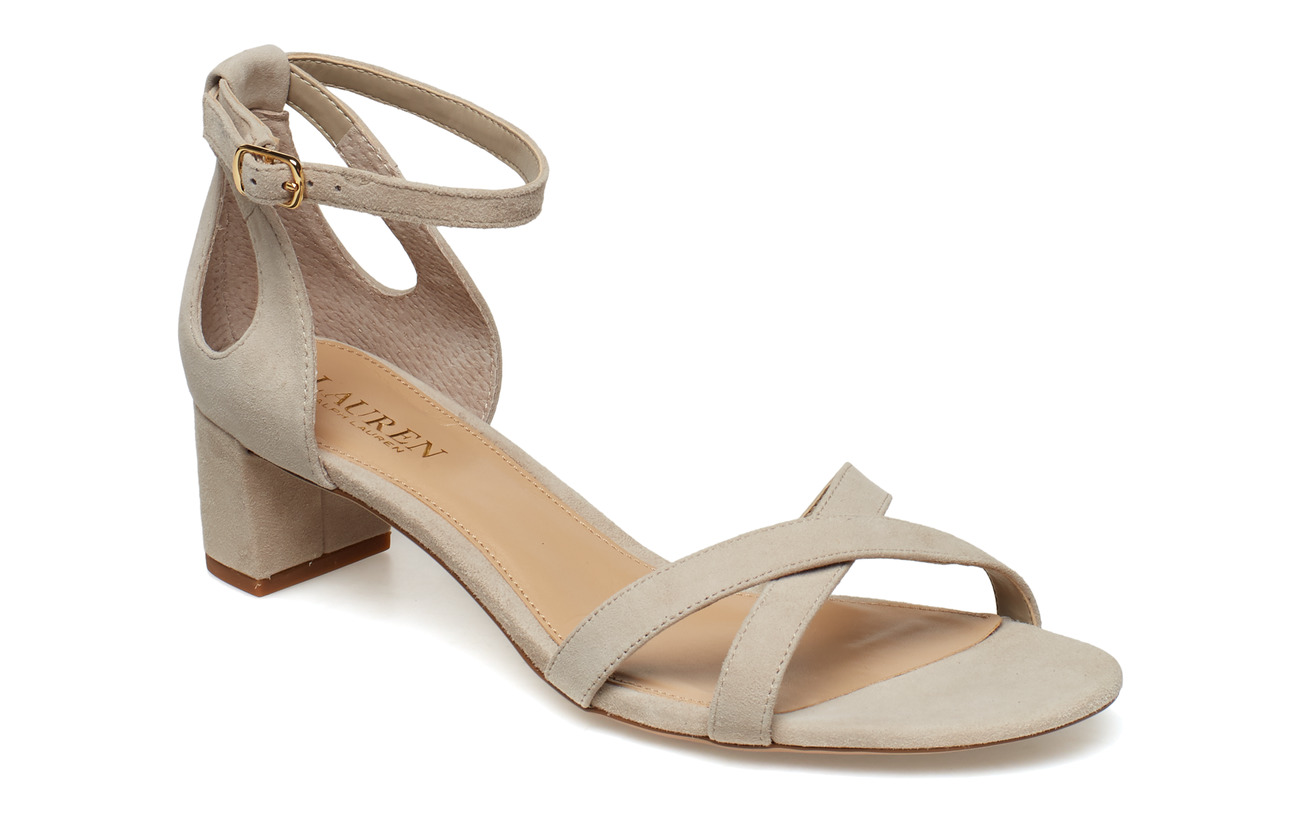 Lauren Ralph Lauren Folly Suede Sandal Högklackade skor