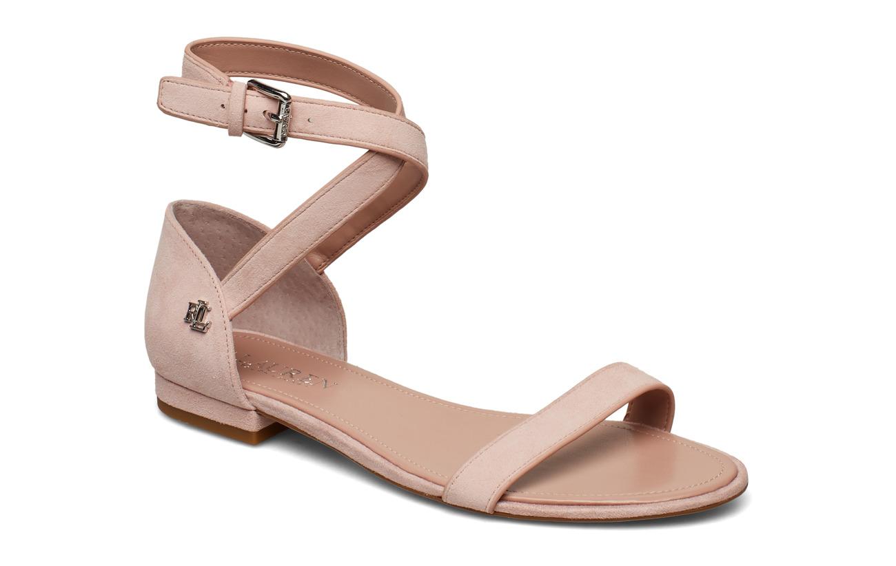 adaa9487c15f Davison Suede Sandal (Pearl Pink) (69.97 €) - Lauren Ralph Lauren ...
