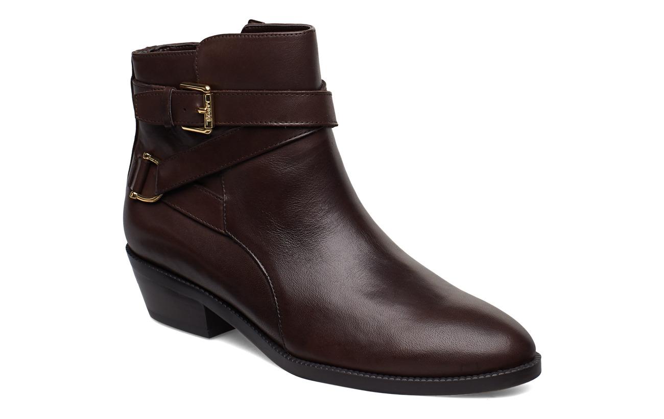 Ralph Egerton Leather Leather Egerton BootiechestnutLauren 3Rq54ALj