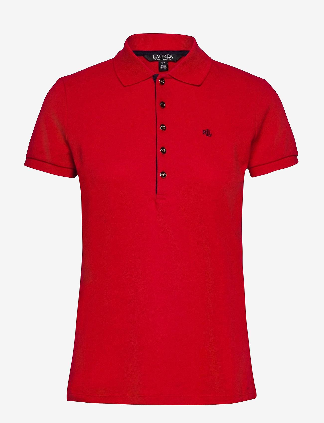 Lauren Ralph Lauren - Piqué Polo Shirt - polohemden - lipstick red - 0