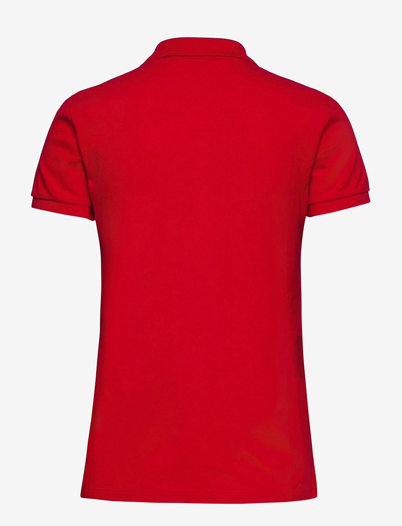 Lauren Ralph Lauren - Piqué Polo Shirt - polohemden - lipstick red - 1