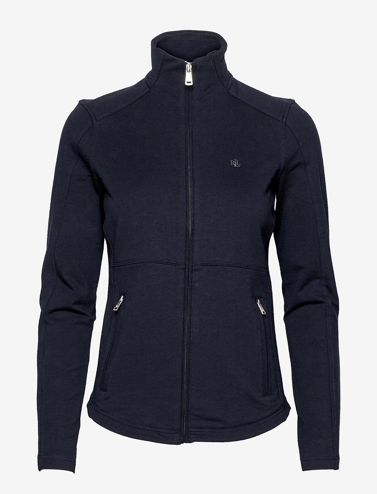Lauren Ralph Lauren - Stretch Cotton Full-Zip Jacket - fleece jassen - lauren navy - 0