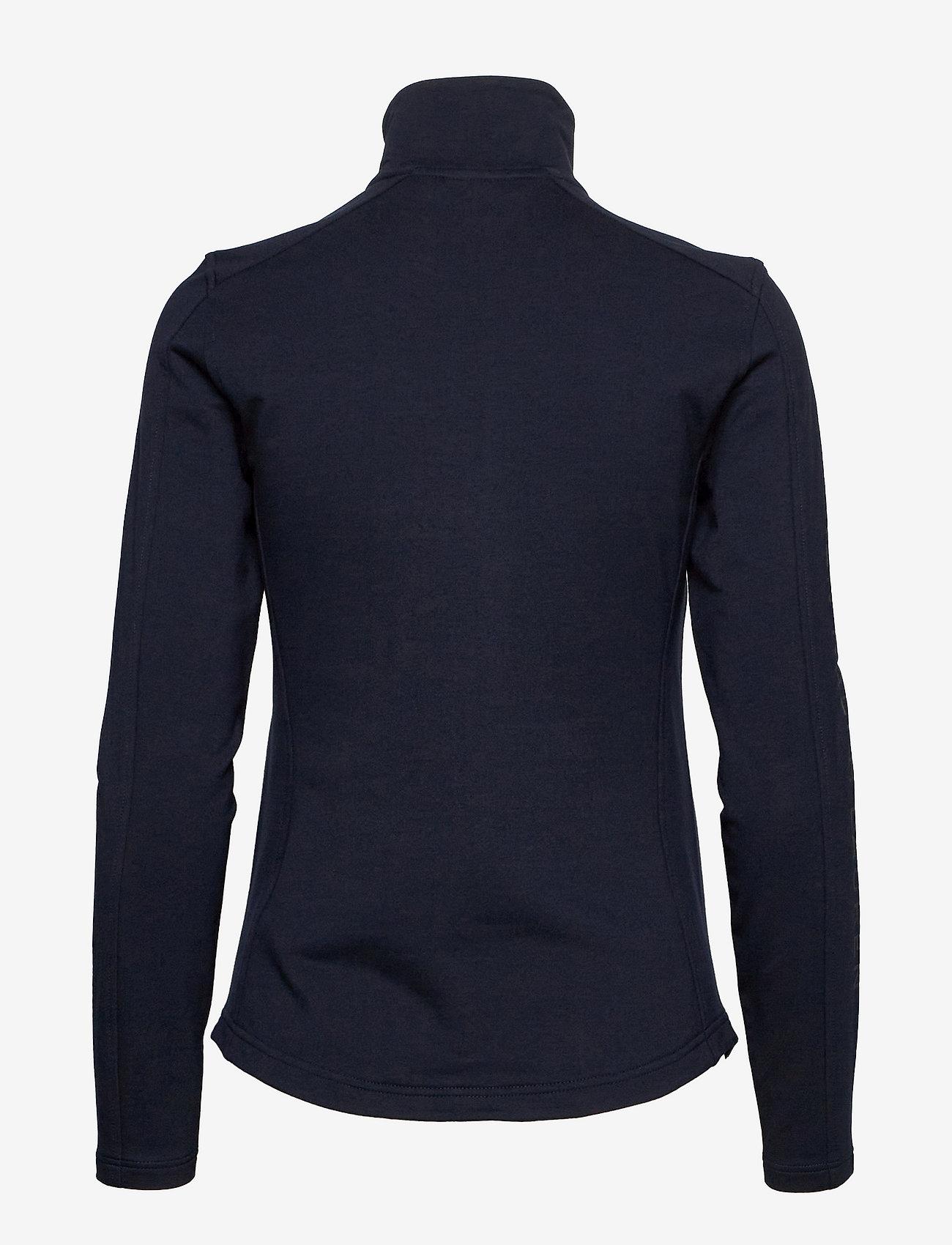 Lauren Ralph Lauren - Stretch Cotton Full-Zip Jacket - fleece jassen - lauren navy - 1