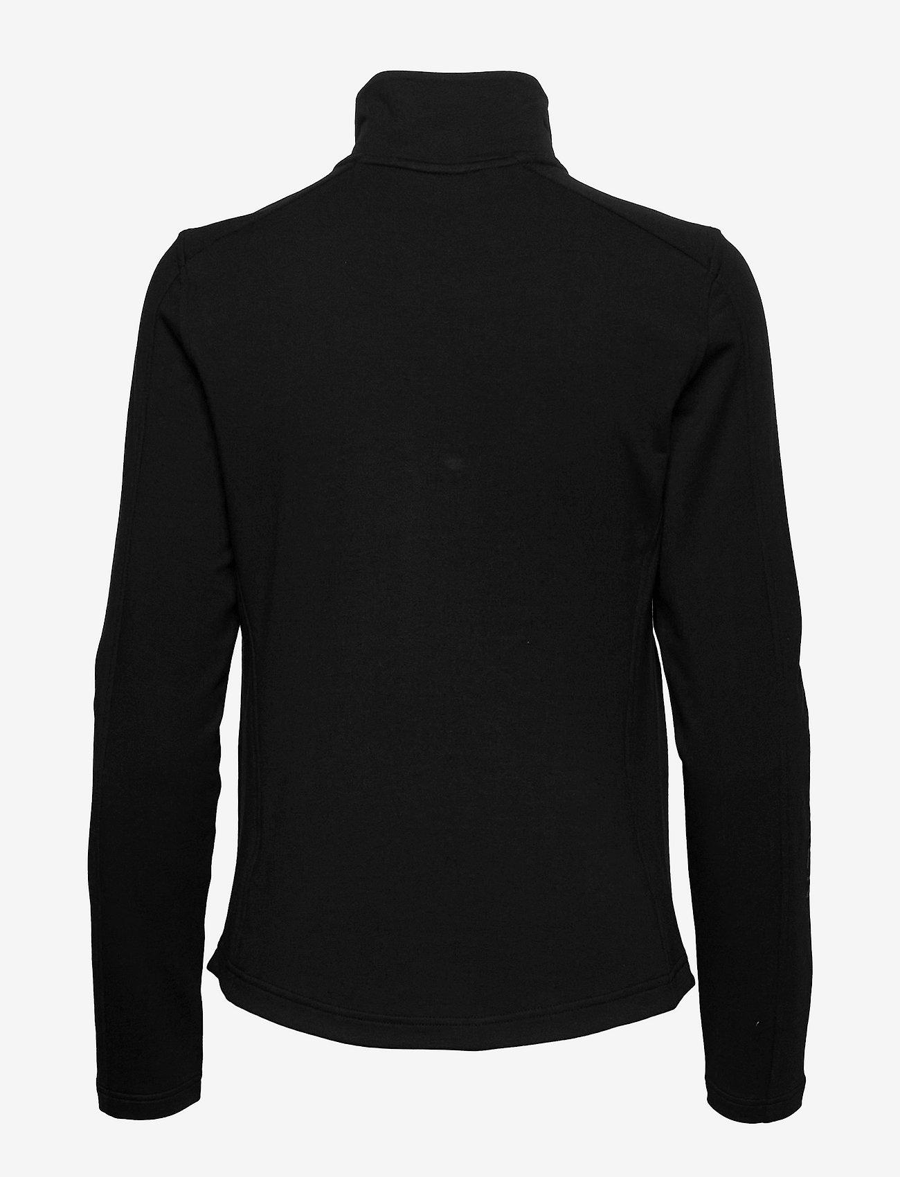 Lauren Ralph Lauren - Stretch Cotton Full-Zip Jacket - fleece jassen - polo black - 1