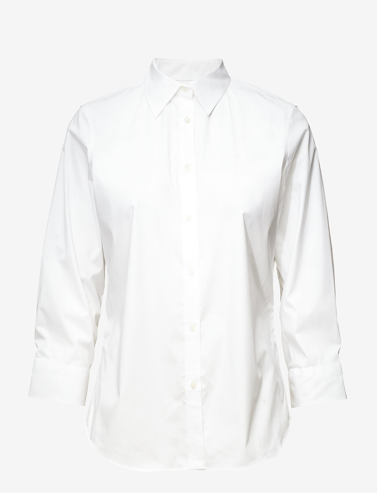 Lauren Ralph Lauren - Easy Care Cotton-Blend Shirt - chemises à manches longues - white - 1