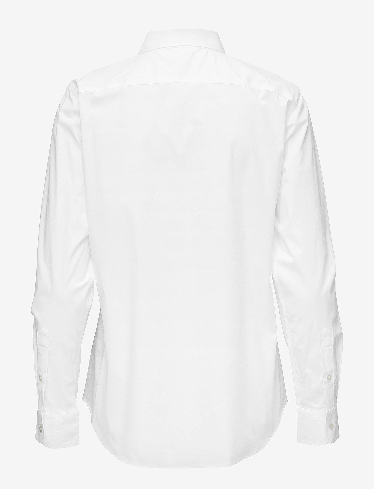 No-iron Button-down Shirt (White) - Lauren Ralph Lauren A4s8X0