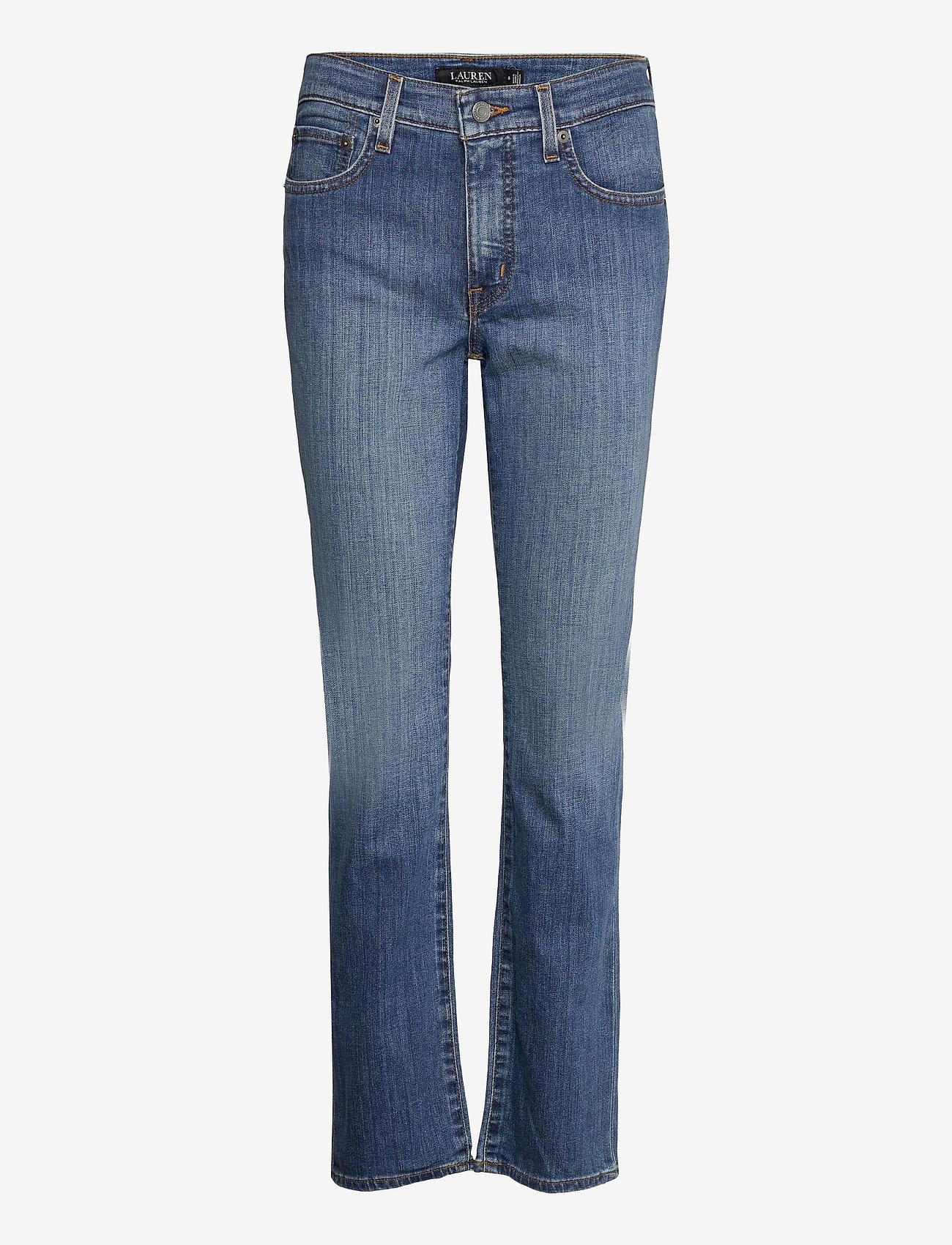 Lauren Ralph Lauren - Premier Straight Jean - straight jeans - ocean blue wash d - 1