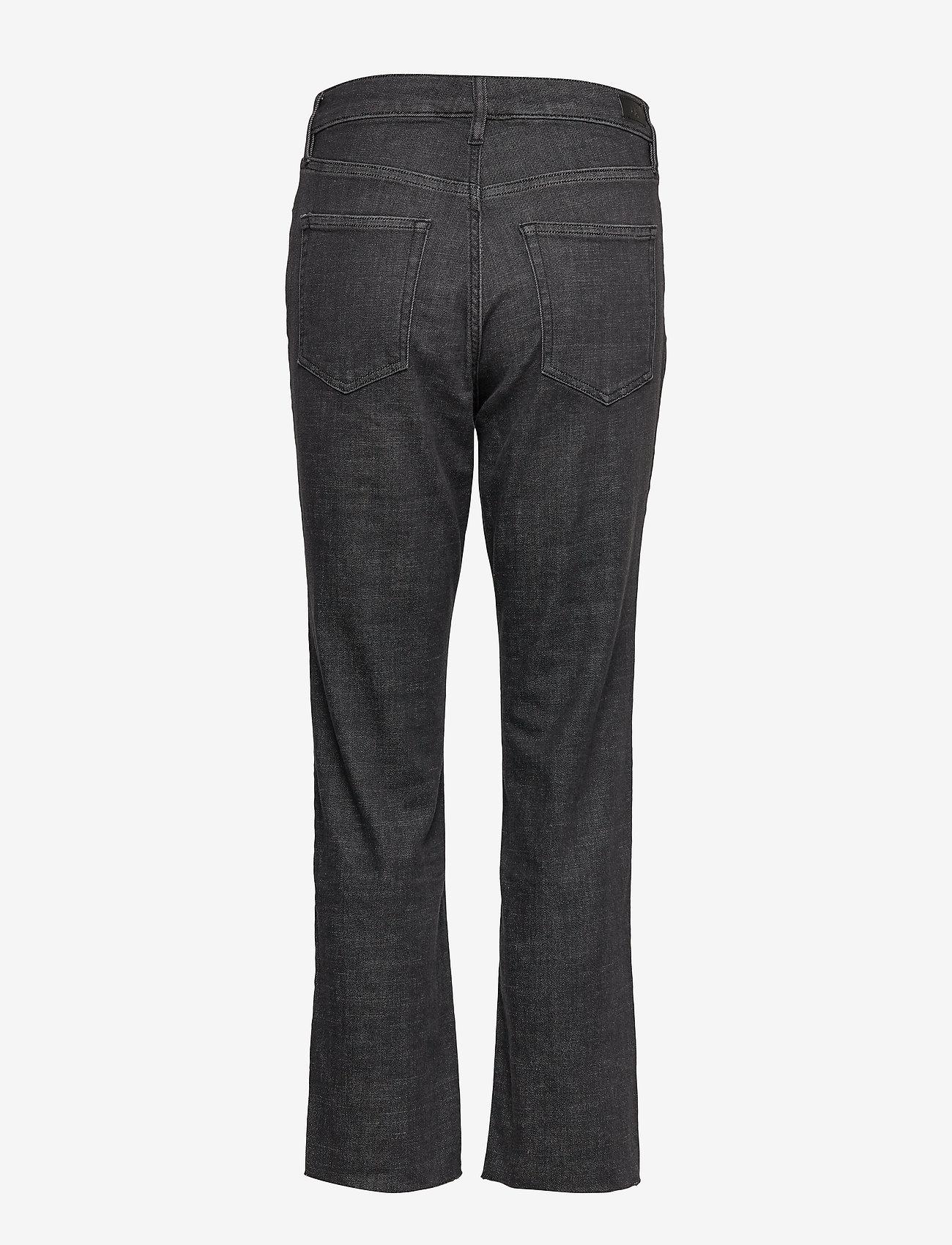 Lauren Ralph Lauren - Regal Straight Ankle Jean - suorat - faded noir wash