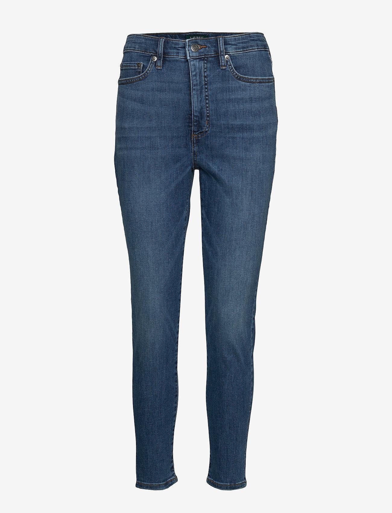 Lauren Ralph Lauren - Regal Skinny Ankle Jean - skinny farkut - harbor wash denim - 0