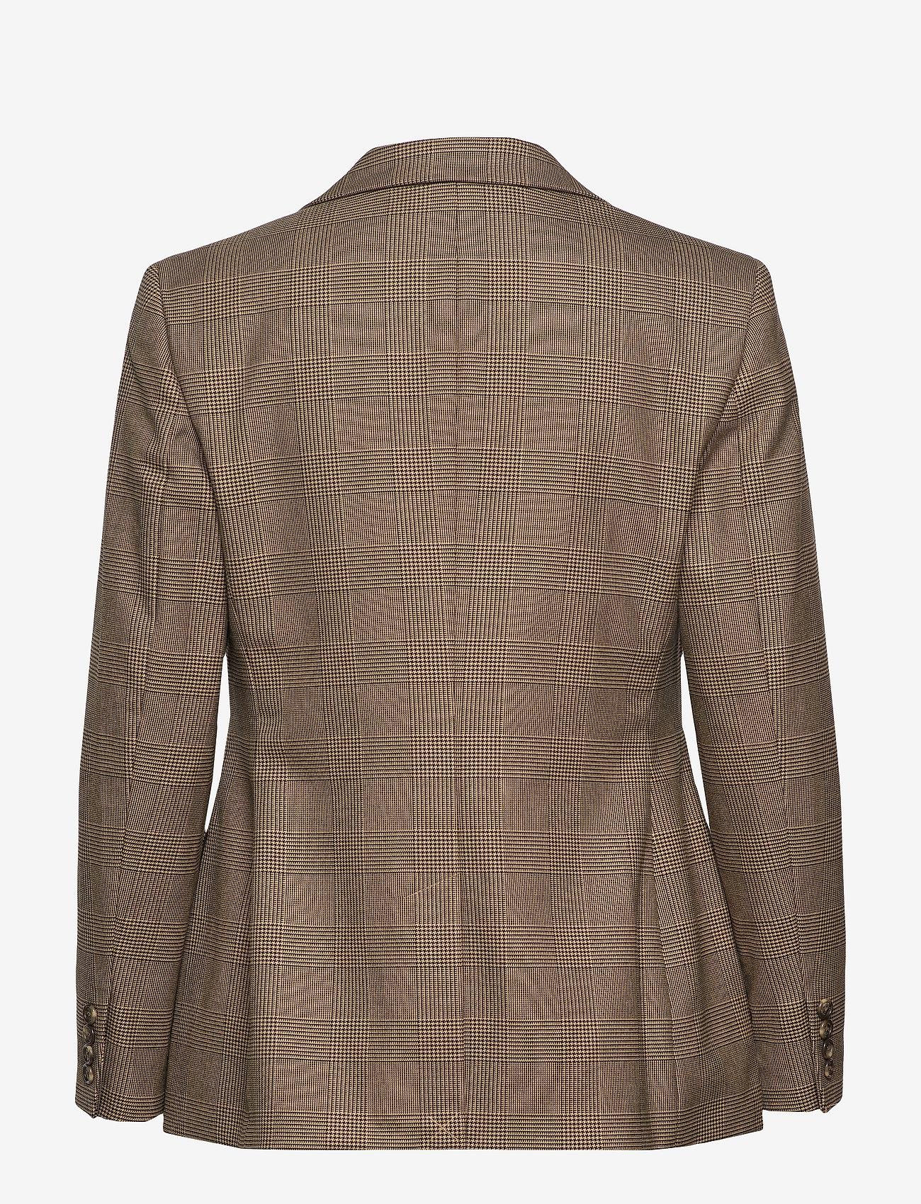 Refined Suiting-jacket (Brown/tan Multi) - Lauren Ralph Lauren J5UgIa