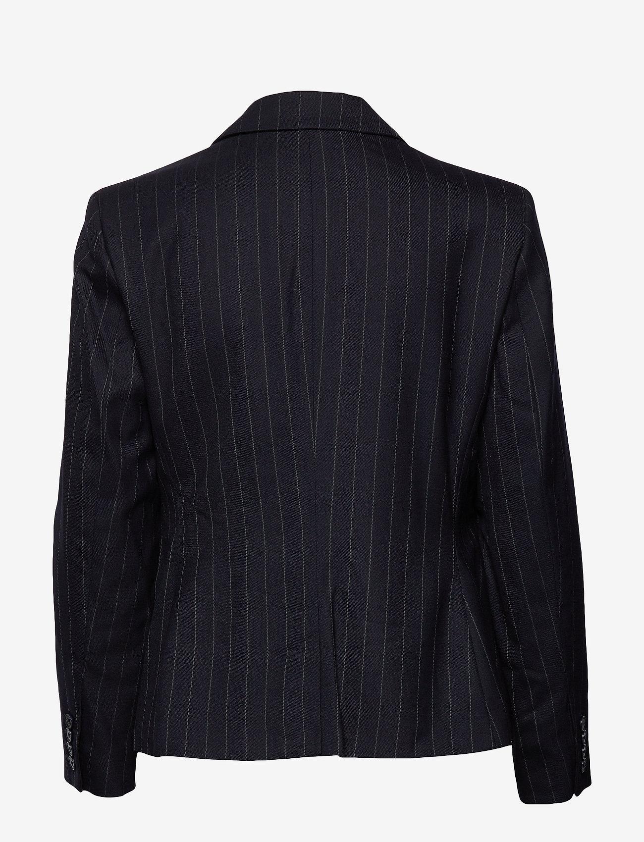 Wool Suiting-jacket (Navy Multi) - Lauren Ralph Lauren EJBH5X