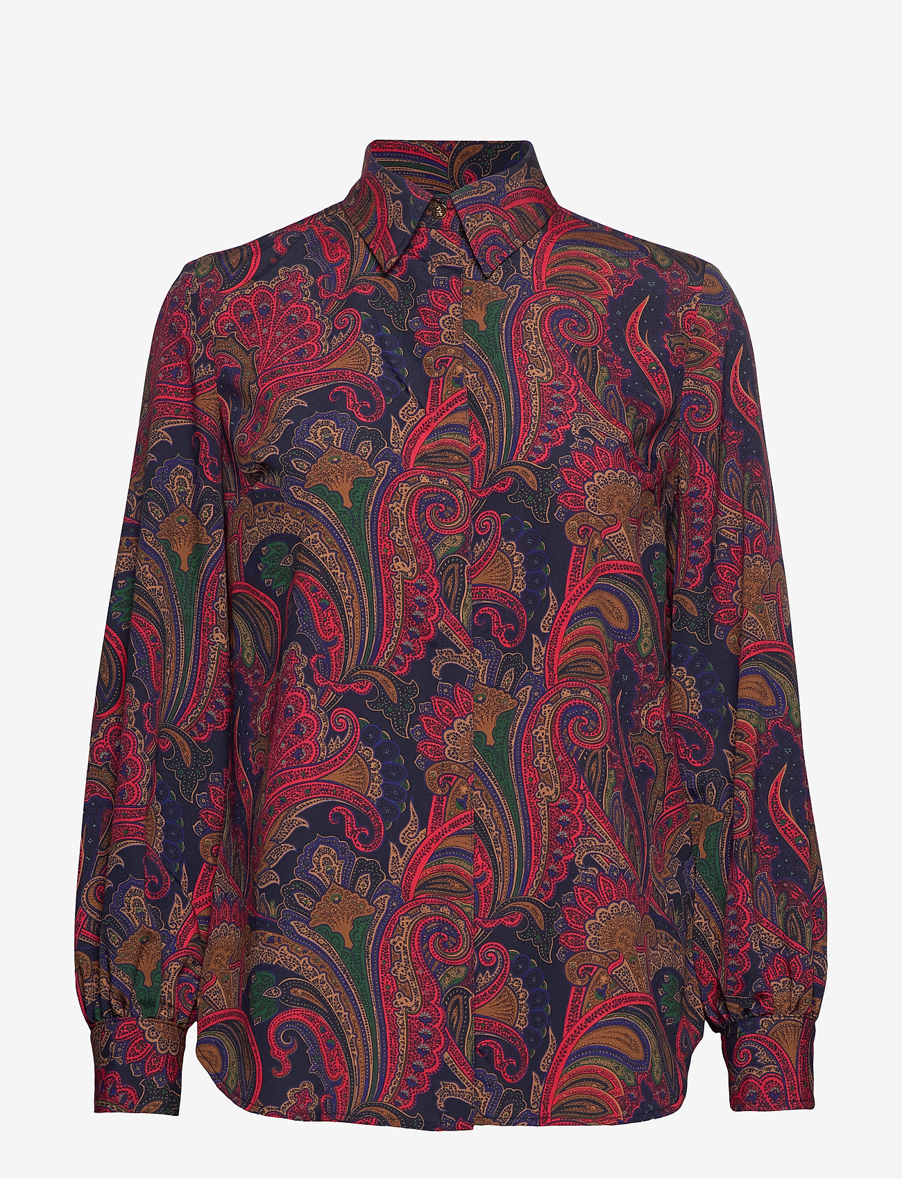 Poly Cdc-shirt (Lauren Navy Multi) - Lauren Ralph Lauren Zi7lfW