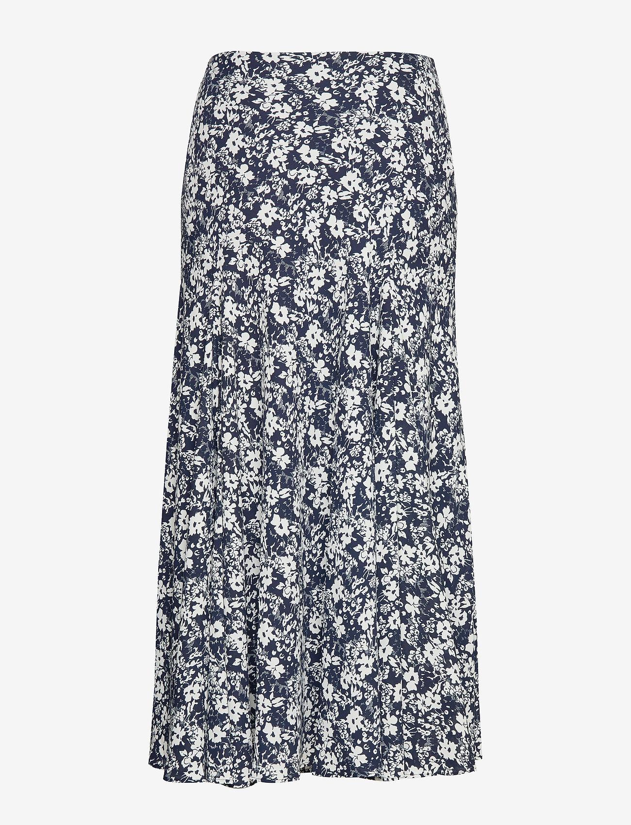 Floral Georgette Maxiskirt (Lauren Navy/pale) - Lauren Ralph Lauren exVLdI