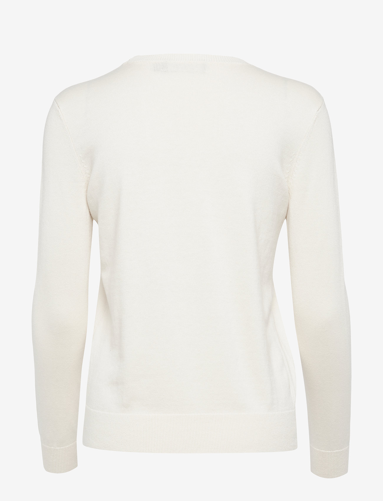 Beaded Logo Sweater (Mascarpone Cream) (979.30 kr) - Lauren Ralph Lauren ODAl2bt7