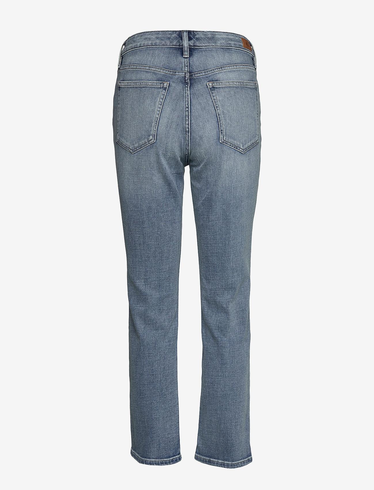 Lauren Ralph Lauren - Premier Straight Ankle Jean - proste dżinsy - light indigo wash - 1