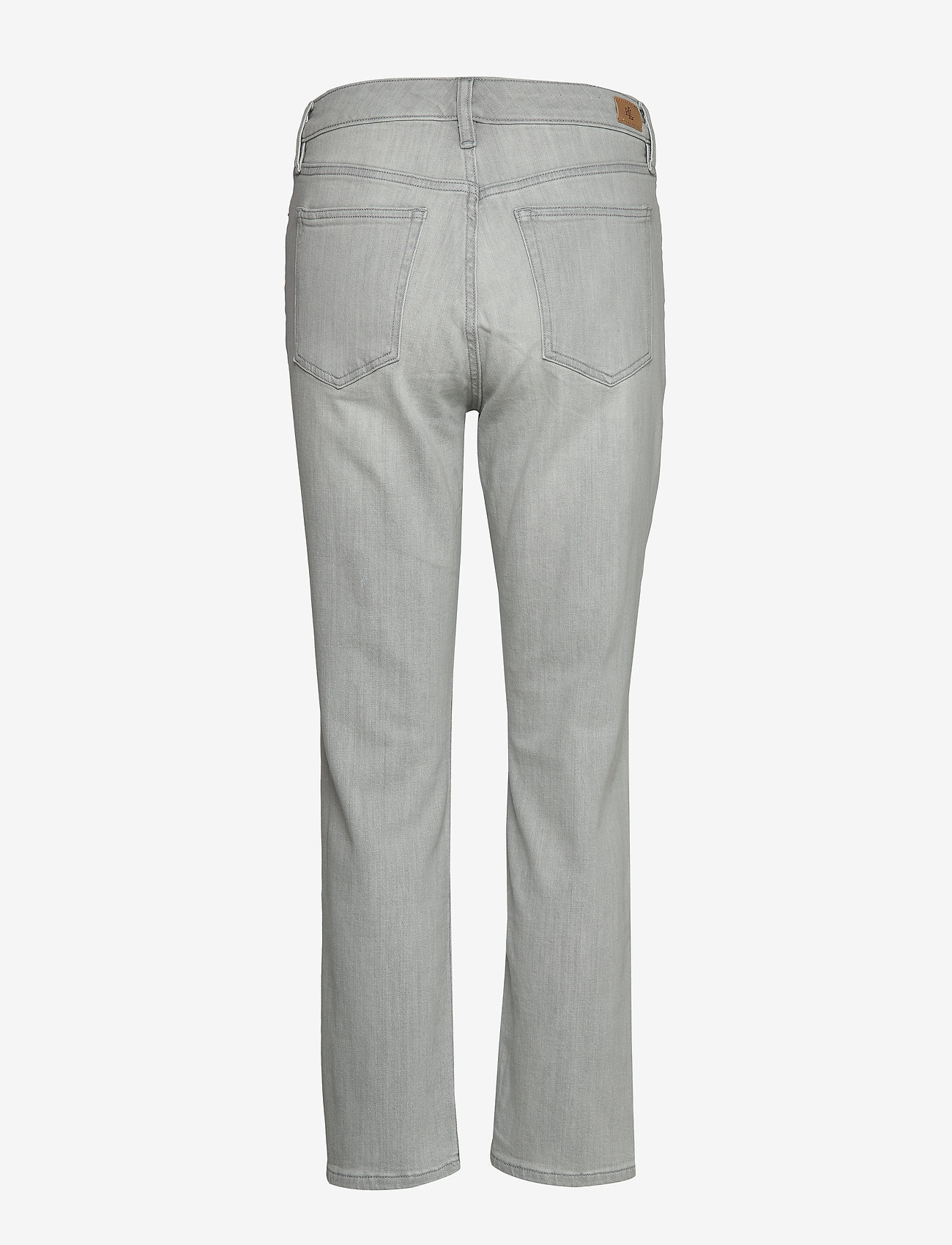 Lauren Ralph Lauren Premier Straight Ankle Jean - Jeans SOFT GREY WASH - Dameklær Spesialtilbud