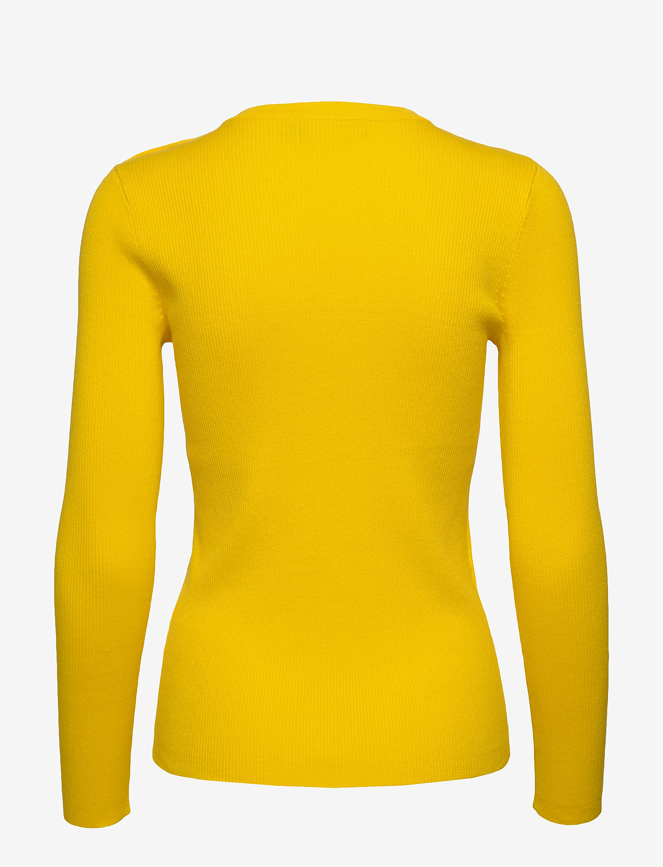 Lauren Ralph Lauren - Ribbed Cotton-Blend Sweater - gensere - dandelion fields - 1