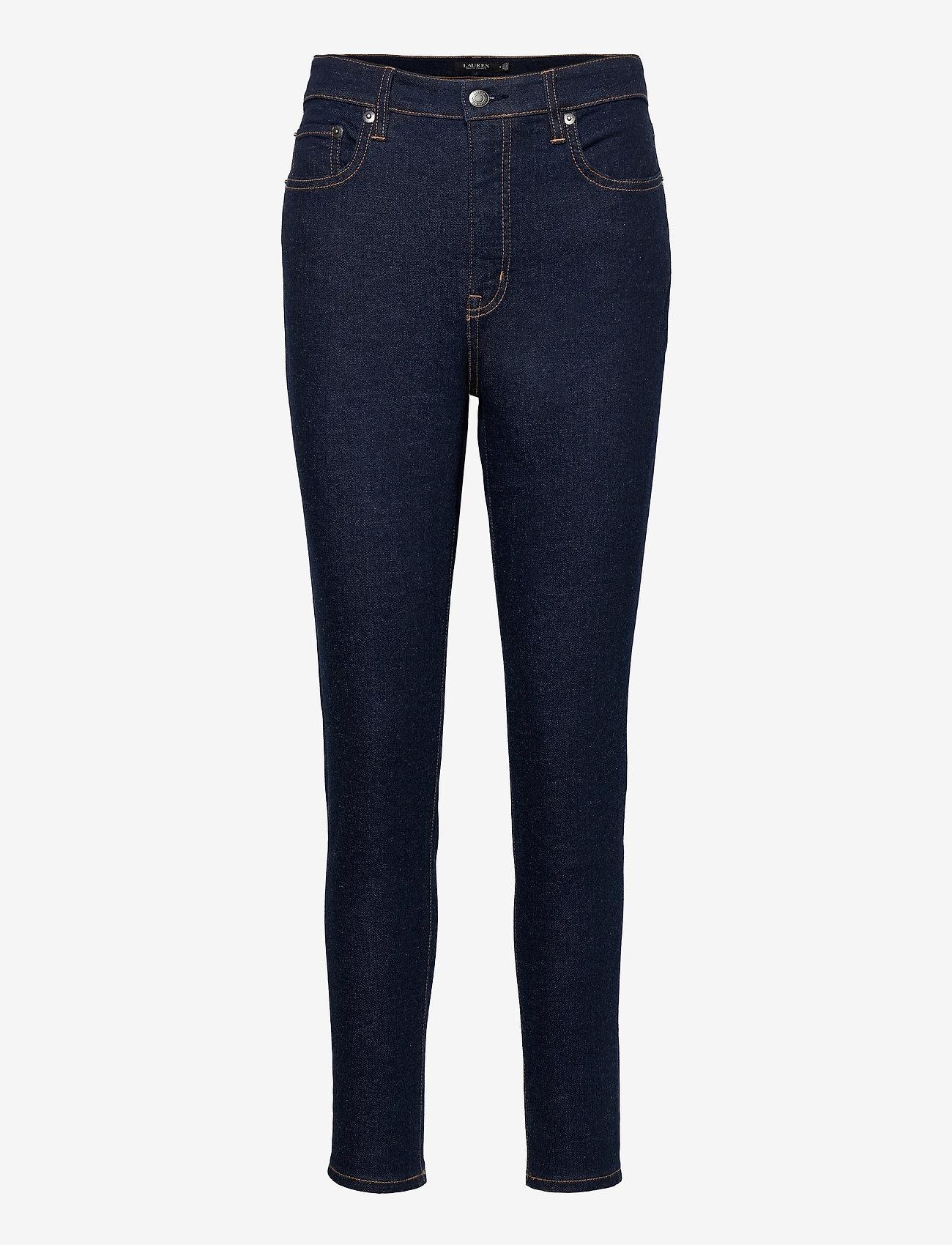 Lauren Ralph Lauren - High-Rise Skinny Ankle Jean - skinny jeans - rinse wash - 1