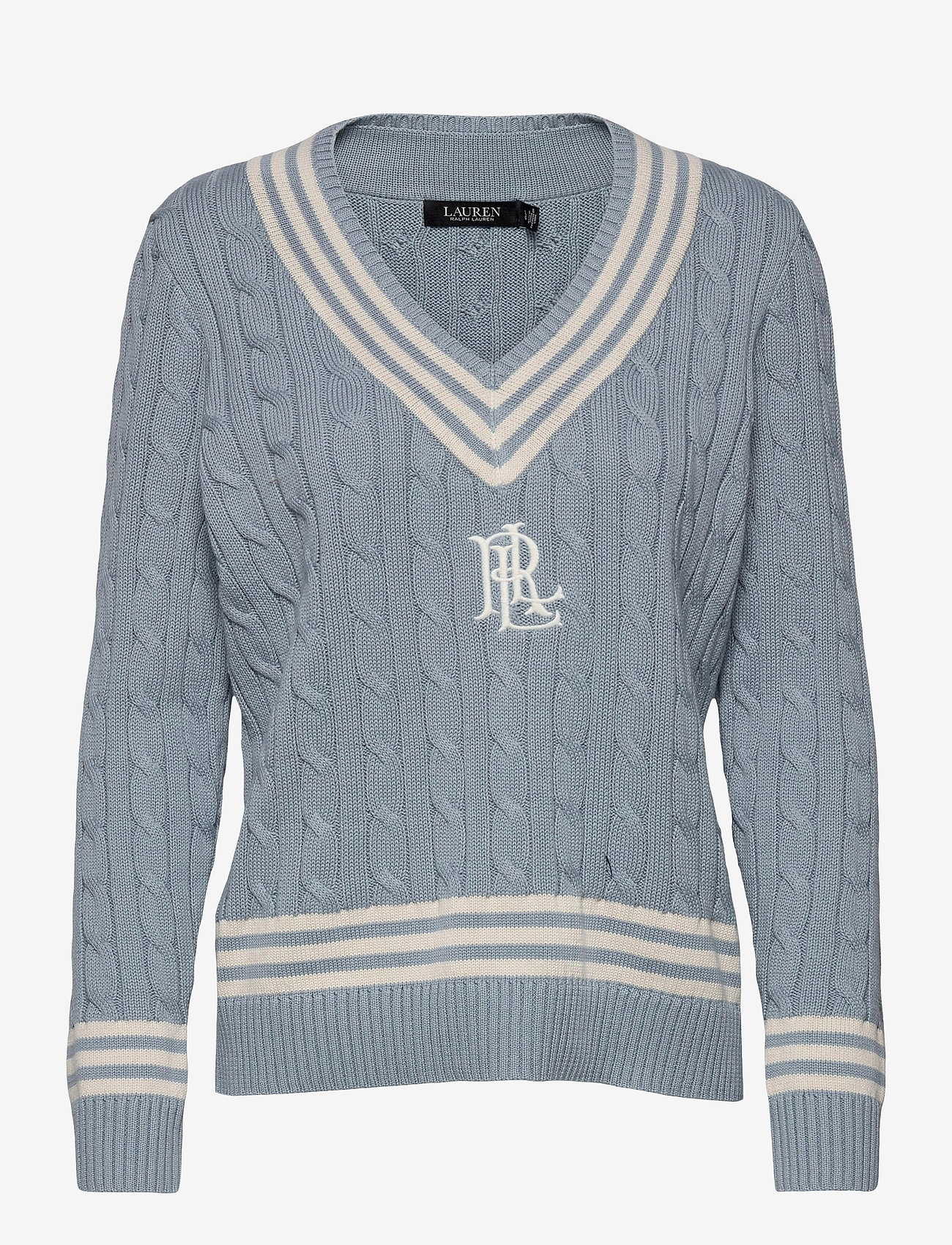 Lauren Ralph Lauren - Logo Cricket Sweater - pulls - dust blue/ mas cr - 1