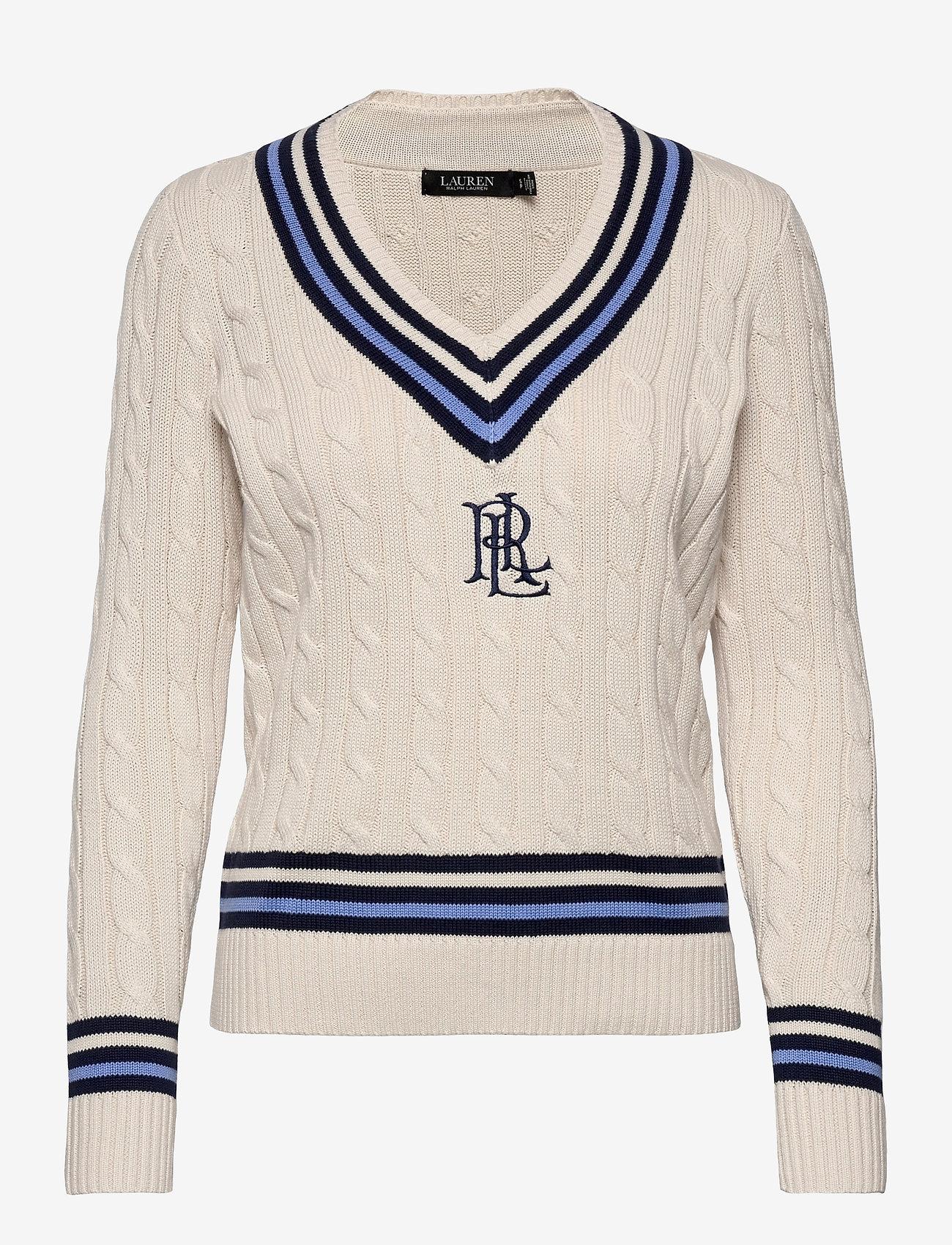 Lauren Ralph Lauren - Logo Cricket Sweater - pulls - mascrm/fnvy/cbl - 1