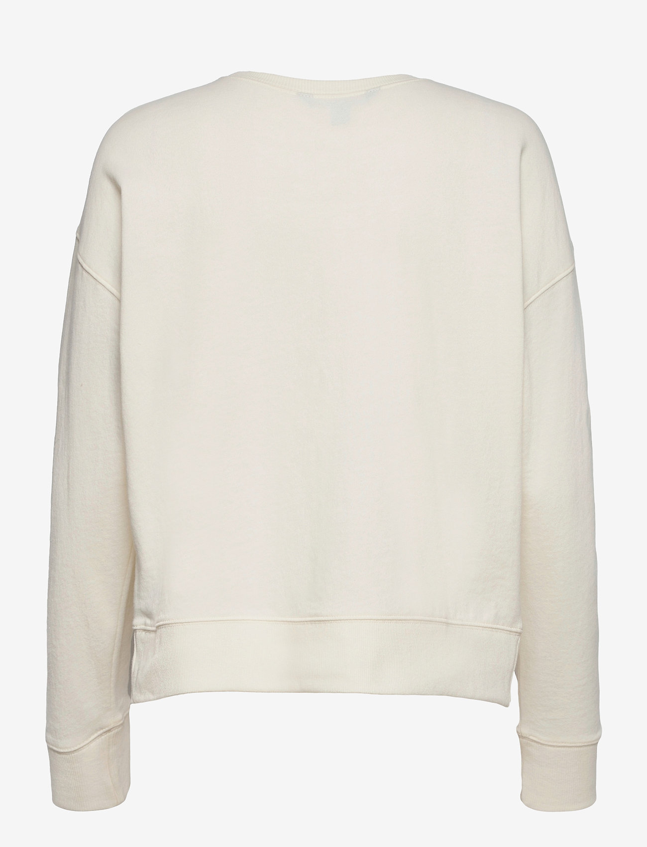 Lauren Ralph Lauren - Collegiate French Terry Top - sweatshirts - pale cream - 1