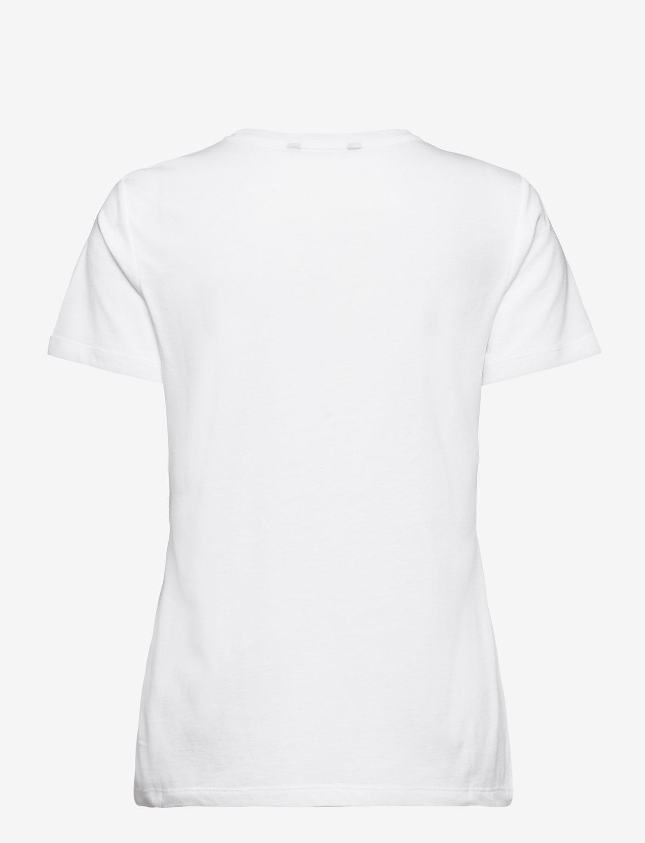 Lauren Ralph Lauren - Script Logo Jersey Tee - t-shirts - white - 1