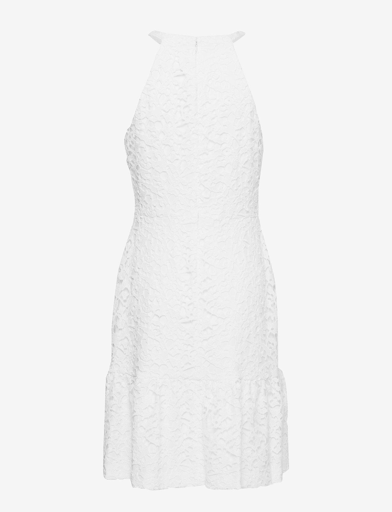 Lauren Ralph Lauren - Floral Lace Sleeveless Dress - lyhyet mekot - white