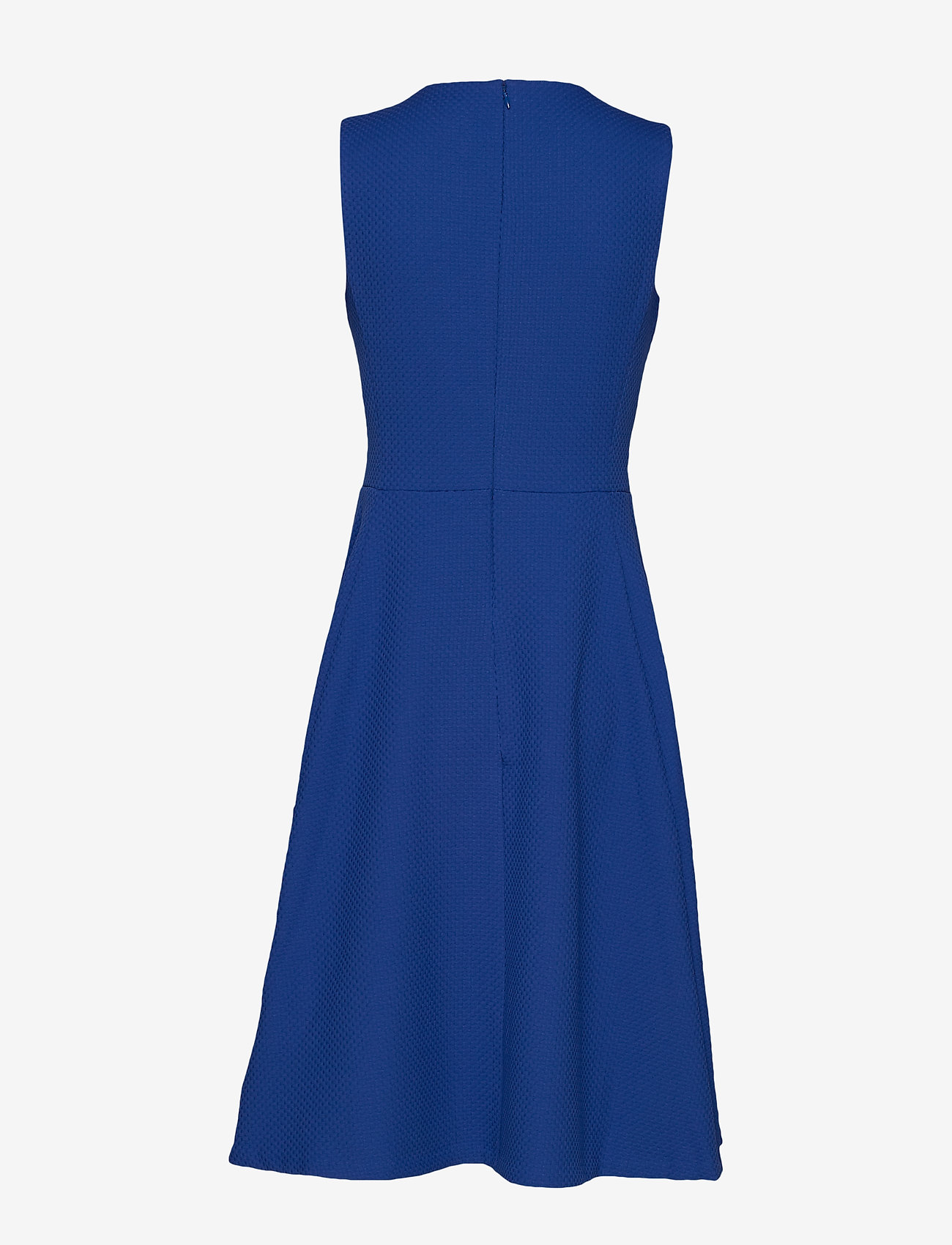 Lauren Ralph Lauren - BASKETWEAVE PONTE-DRESS - juhlamekot - french blue
